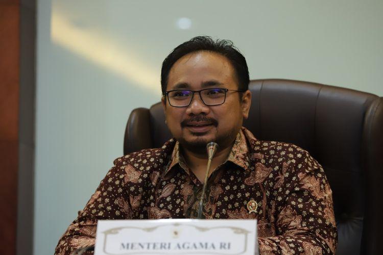 Menteri Agama (Menag) Yaqut Cholil Quomas (Foto: Humas Kementerian Agama)
