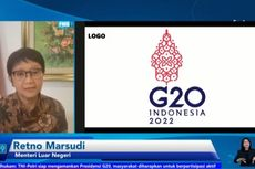 Menlu Ungkap Makna Logo Presidensi G20 Indonesia
