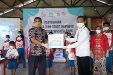 Peringati Hari Anak Nasional, Kementerian KP Bagikan 1,2 Ton Ikan di Kampung Pemulung dan Lapas Anak