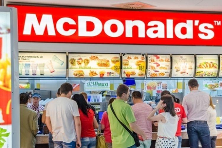 Restoran cepat saji McDonalds.