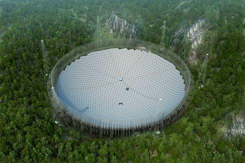 Berukuran 500 Meter, Teleskop Raksasa Pemburu Alien China Resmi Beroperasi