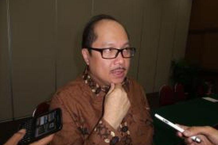Direktur Utama PT Transjakarta Antonius Kosasih