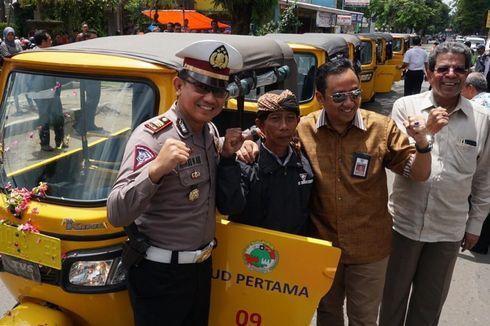 Bajaj Gantikan Moda Transportasi Bentor di Cilacap