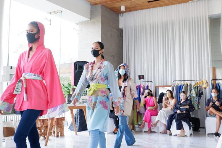 Trunk show di acara Bali Kembali Movement yang digelar pada 24-25 Juni 2021 di Maya Sanur Resort & Spa, Bali.