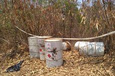 Belasan Drum Berisi Limbah Berbahaya Ditemukan di Kawasan Hutan