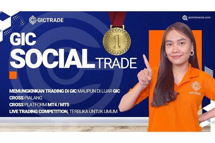 Global Investa Capital (GIC) meluncurkan fitur terbaru trading forex, yakni GIC Social Trade, Senin (30/11/2020).