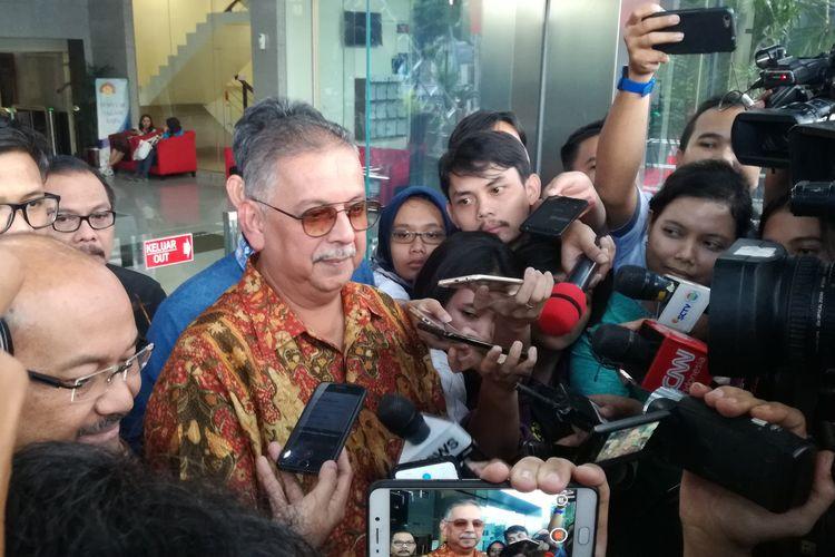 Direktur Utama PT PLN (Persero) nonaktif Sofyan Basir telah memenuhi panggilan pemeriksaan perdana sebagai tersangka di Komisi Pemberantasan Korupsi (KPK), Senin (6/5/2019).