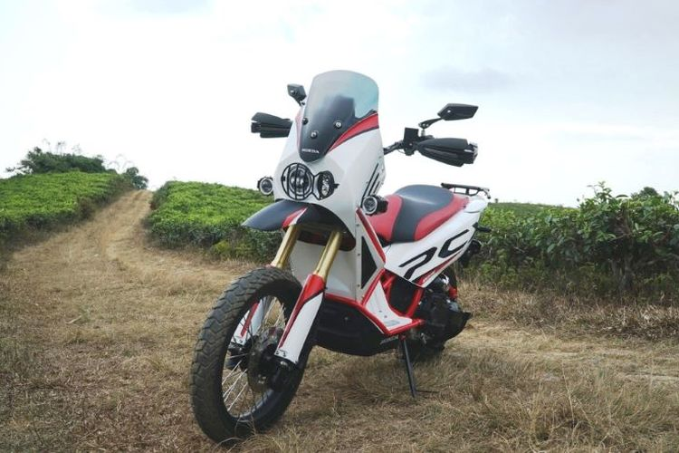 Salah satu modifikasi Honda PCX ala Adventure di Honda Dream Ride Project 2019