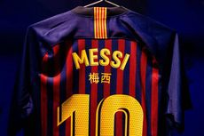 Barcelona Vs Real Madrid, Barca Tampil dengan Nuansa China