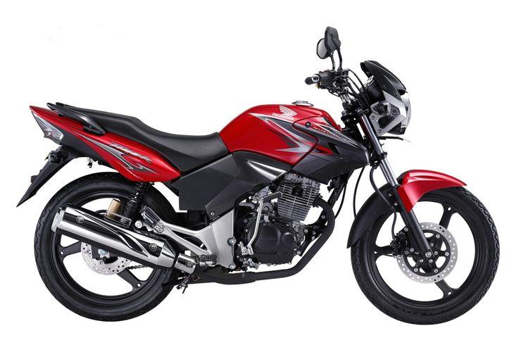 Honda Tiger, salah satu contoh sepeda motor dengan mesin 4-tak yang sempat dipasarkan di Indonesia.