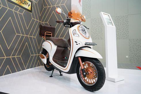 Modifikasi All New Honda Scoopy Tema Luxury