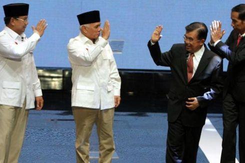 Survei LSI: Elektabilitas Jokowi-JK 47,8 Persen, Prabowo-Hatta 44,2 Persen