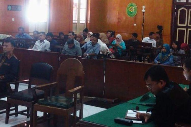 Mantan Gubernur Sumatera Utara Gatot Pujo Nugroho divonis 4 tahun penjara oleh majelis hakim PN Medan, Kamis (9/3/2017)