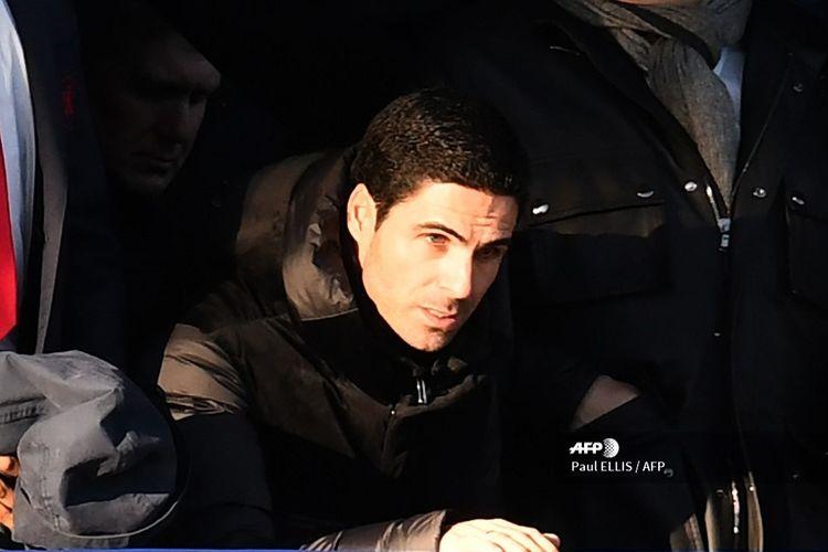 Pelatih Arsenal, Mikel Arteta.