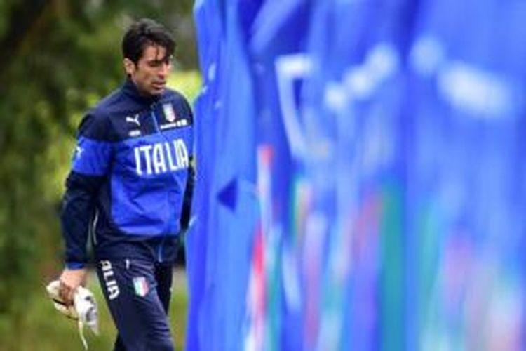 Kiper tim nasional Italia, Gianluigi Buffon.