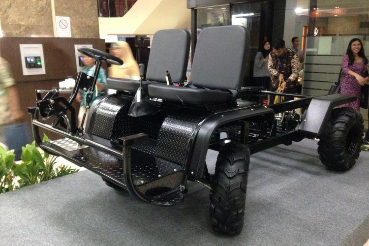 Platform mobil perdesaan yang dipamerkan di Kementerian Perindustrian.