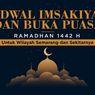 INFOGRAFIK: Jadwal Imsak dan Buka Puasa Semarang Ramadhan 1442 H
