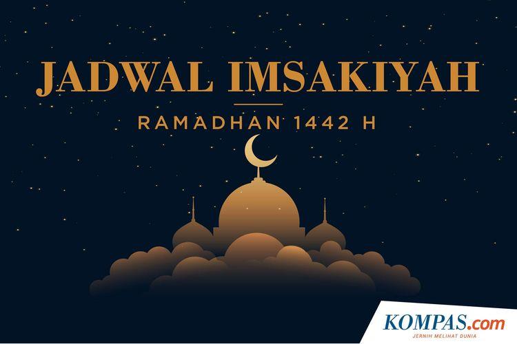Ilustrasi Jadwal Imsakiyah Ramadhan 1442 H