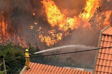 Kebakaran Hutan Ancam Kota Kelahiran Cristiano Ronaldo