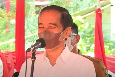 Santri Ini Bikin Jokowi Tertawa Saat Perkenalkan Namanya: Saya Luhut Santri, Bukan Luhut Menteri meski dari Tapanuli