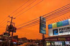 Penjelasan BMKG Soal Fenomena Langit Oranye di Karawang