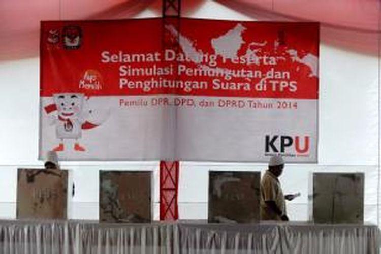Saksi Partai Politik Di Tps Maksimal 2 Orang