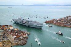 Kapal Induk Inggris HMS Queen Elizabeth Diluncurkan untuk Lawan ISIS
