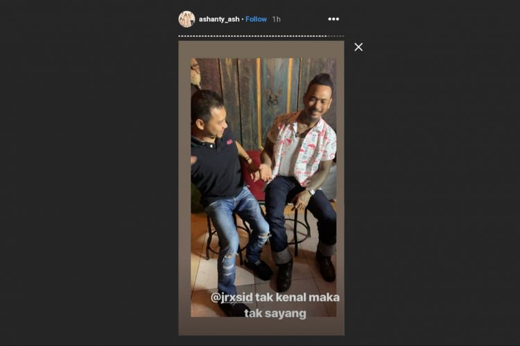 Anang Hermansyah akhirnya bertemu dengan Jerinx SID di Bali, Senin (18/2/2019). Mereka sebelumnya berdebat soal RUU Permusikan di media sosial.