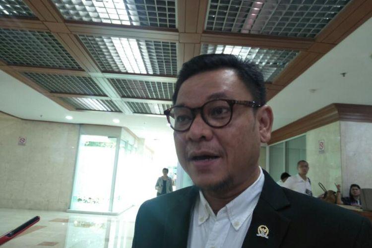 Wakil Ketua Komisi VIII DPR Ace Hasan Syadzily di Kompleks Parlemen, Senayan, Jakarta, Rabu (12/2/2020)