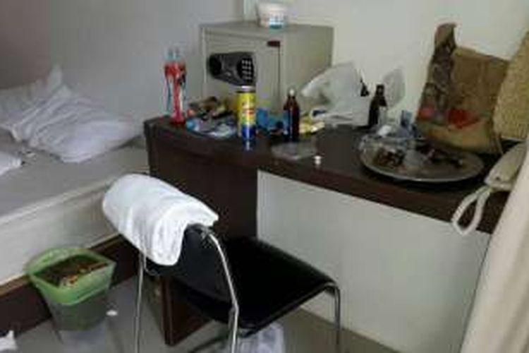 Kamar di mana turis Perancis ditemukan tewas di Phuket.