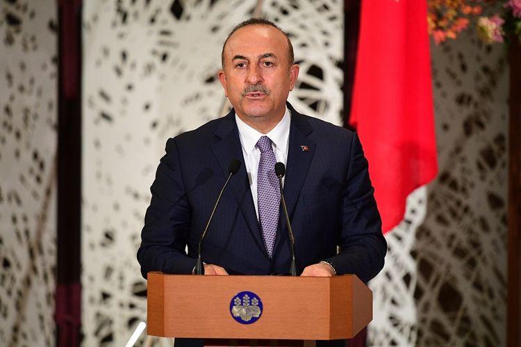 Menteri Luar Negeri Turki, Mevlut Cavusoglu.