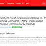 Anak Usaha Pertamina Buka Lowongan Kerja untuk Lulusan D3 dan Fresh Graduate