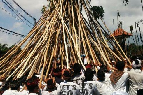 Makna Tradisi Mekotek Desa Munggu Bali saat Hari Raya Kuningan