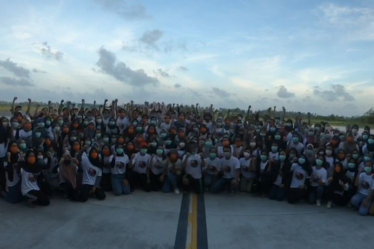 Semua WNI akan dipulangkan dari Hanggar Lanud Raden Sadjad Ranai, KabupatenNatuna, Kepulauan Riau (Kepri), termasuk 47 orang kru penjemput.Sehingga total yang dipulangkan sebanyak 285 orang.