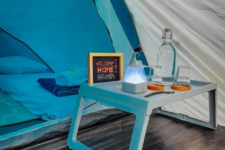 Fasilitas di tenda Soekapi Camp