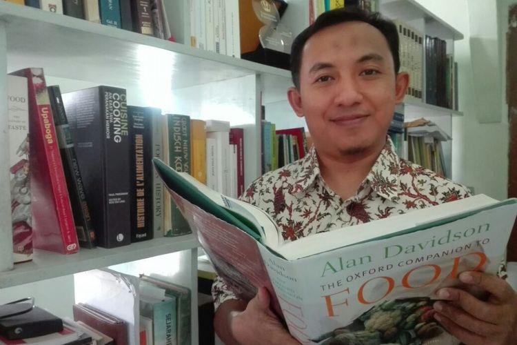 Sejarawan Kuliner Indonesia, Fadly Rahman, penulis buku Jejak Rasa Nusantara