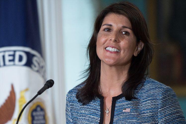 Nikki Haley mengundurkan diri dari jabatan Duta Besar AS untuk PBB.