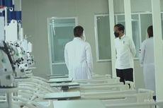 Jokowi Tinjau RS Modular Pertamina, Berkapasitas 305 Tempat Tidur