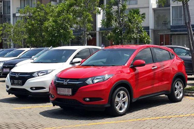 Honda HR-V pertama yang dikirimkan ke konsumen.