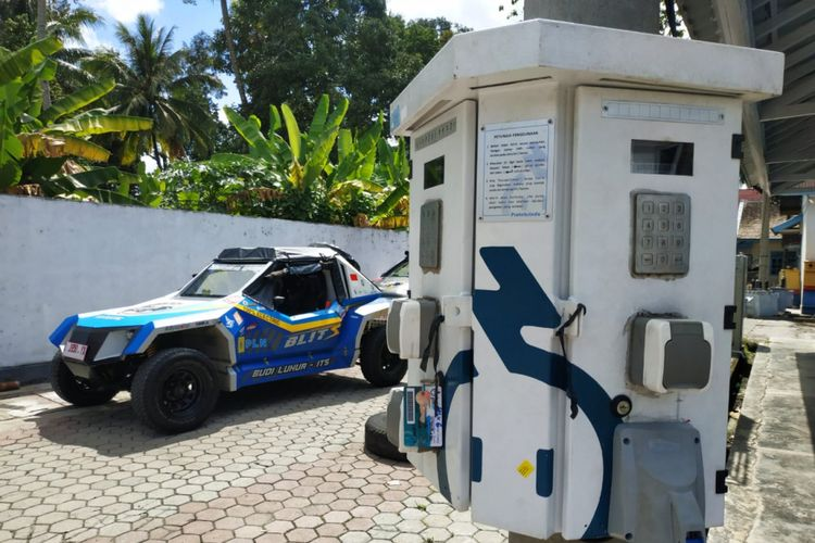 Mobil Listrik Blits di Palembang