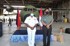TNI Serahkan Mesin Pesawat CASA Angkatan Pertahanan Papua Nugini yang Berhasil Diperbaiki