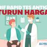 INFOGRAFIK: Tarif Rapid Tes Antigen Turun Harga!