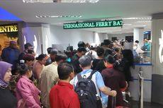 11.555 Wisatawan Asing Padati Pelabuhan Internasional Ferry di Batam