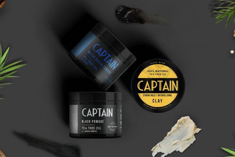 Captain Men's Care pomade.