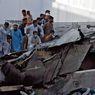 Sebelum Jatuh, Pesawat Pakistan Mencoba Mendarat hingga Gores Runway
