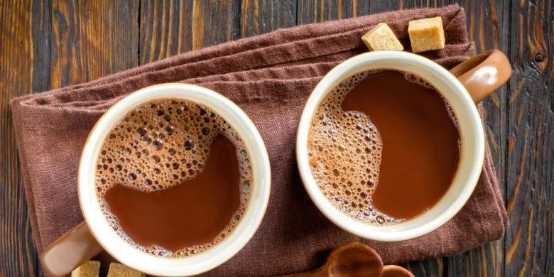 Ilustrasi minuman cokelat.