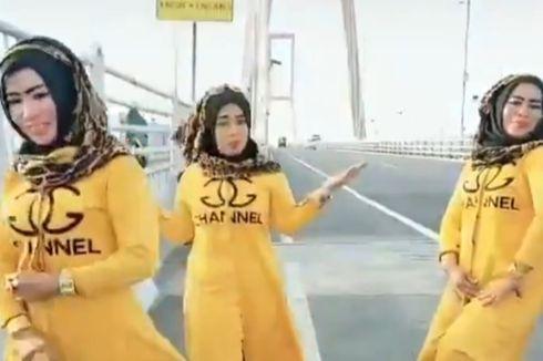 Tiga Wanita yang Joget TikTok di Jembatan Suramadu Minta Maaf, Polisi Beri Sanksi