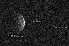 Melintas Dekat Bumi, Asteroid Florence Tampakkan Kedua Bulannya