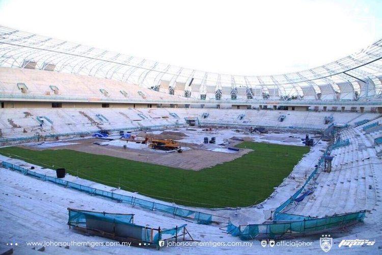 Stadion Sultan Ibrahim Larkin yang akan menjadi kandang klub Johor Darul Tazim pada kompetisi 2020.