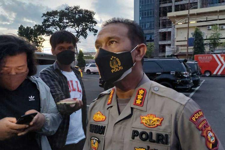 Kabid Humas Polda Sumatera Selatan Kombes Pol Supriadi, menolak berkomentar terkait pemeriksaan Kapolda Sumsel oleh tim internal Mabes Polri, Kamis (5/8/2021).